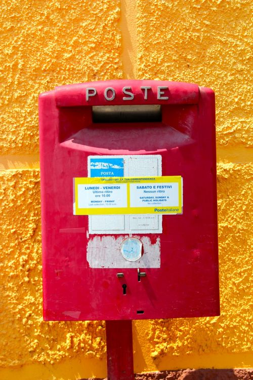 post mailbox letters