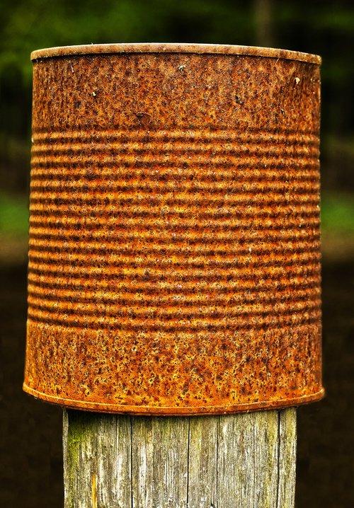 post  box  rusty
