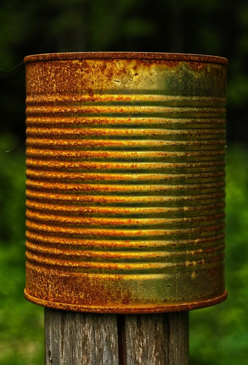 post  box  rusty