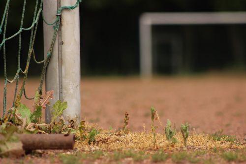 post goal football