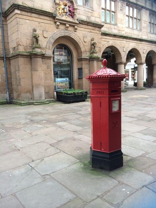 post box red mailbox