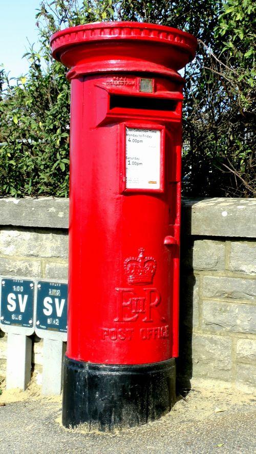 Post Box On A Hill
