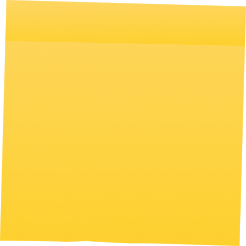 post-it memo sticky note