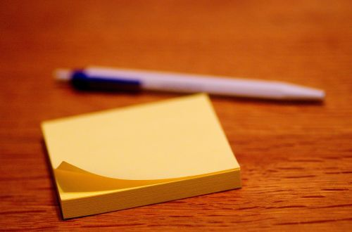 post it stickies adhesive note