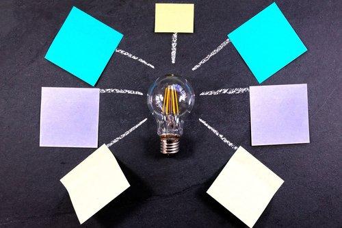 post it  brainstorming  teamwork