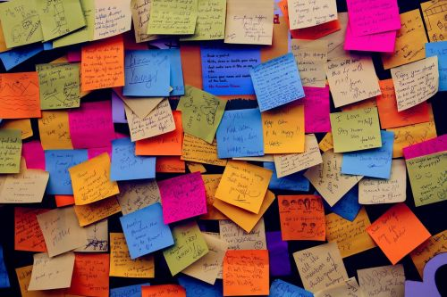 post it notes sticky notes note