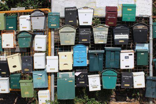 post letter mail box letter boxes