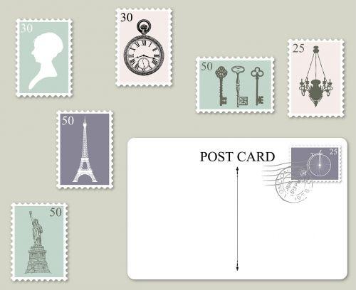 postage postcard stamps