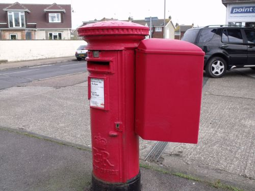 Postbox With Attachment