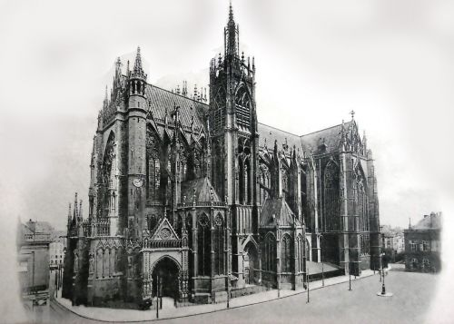 postcard dom cathedral