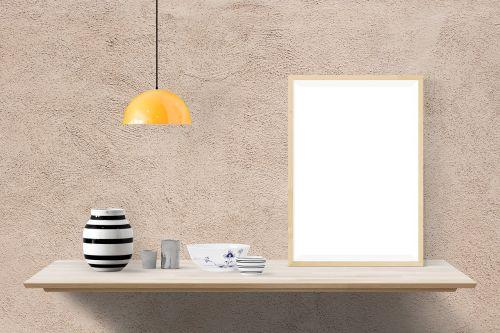 plakatas,maketas,dekoruoti,stalas,interjeras,pristatymas,išdykęs,siena