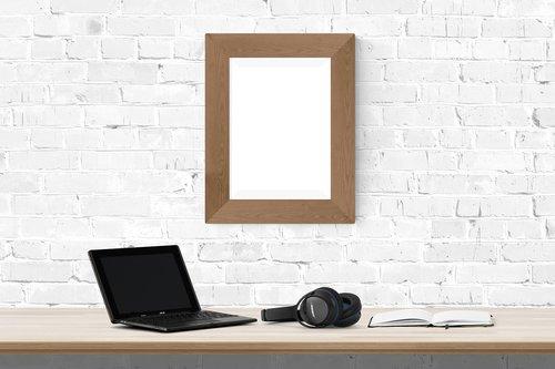 poster  frame  desk