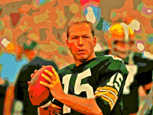 Posterization Of Bart Starr