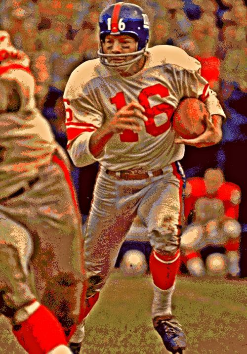 Posterization Of Frank Gifford