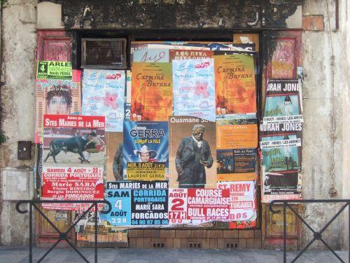 posters wall graffiti