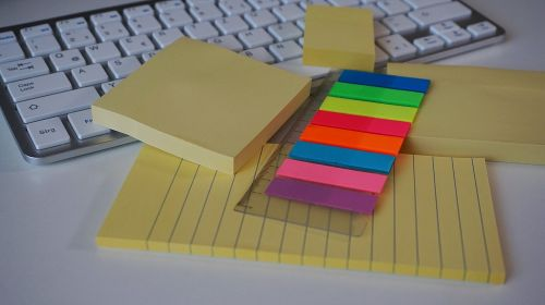 postit sticky notes adhesive note