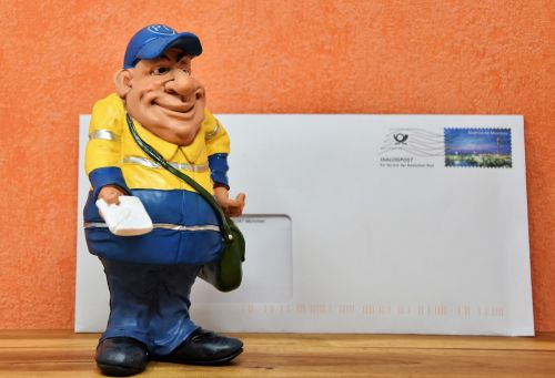 postman figure doll