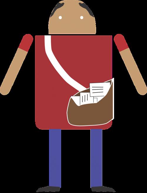 postman letter man