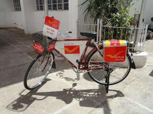 postman bike post office india