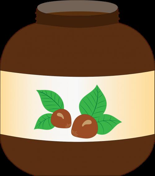pot nutella spread