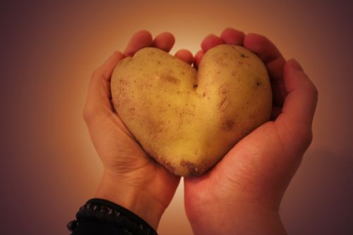 potato heart the two halves of