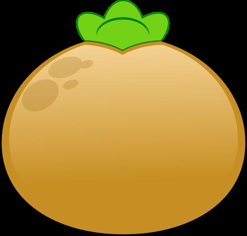 potato sprouting brown