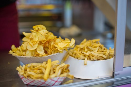 potato chips  french fries  fried