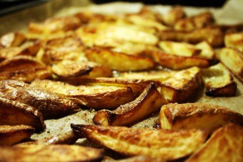 potato corners potato fry