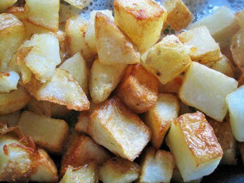 Potato In The Frying Pan