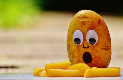 potatoes french mourning
