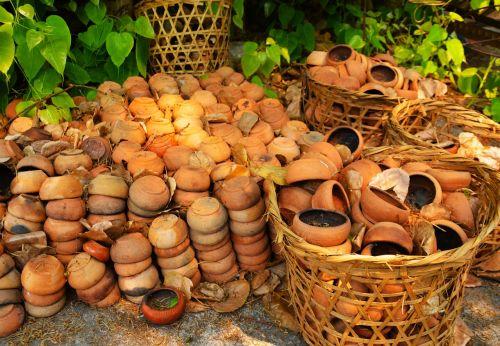 pots bowls ceramic