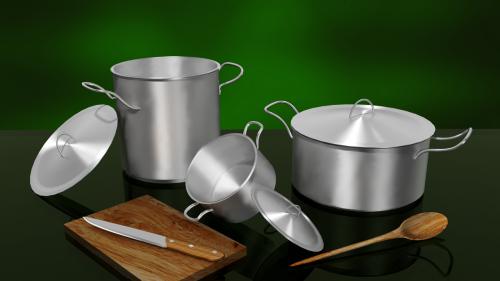 baking cooking pots