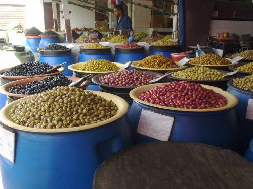 puodai,alyvuogės,Marokas,prieskoniai