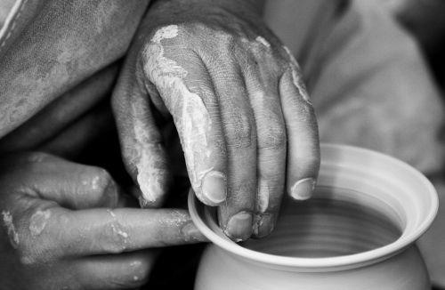 potter hands sound