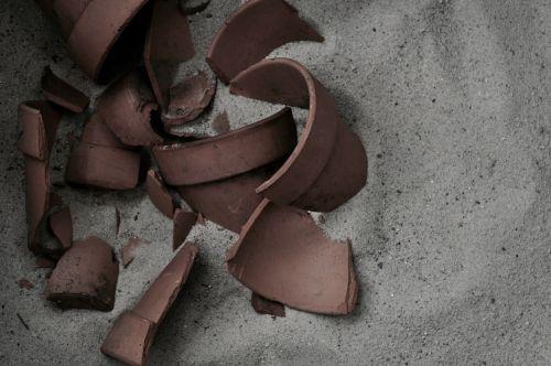 pottery broken pottery broken