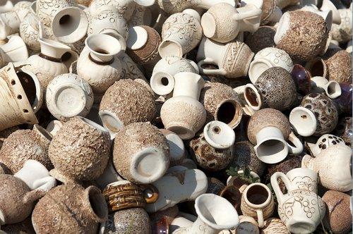pottery  clay  crockery