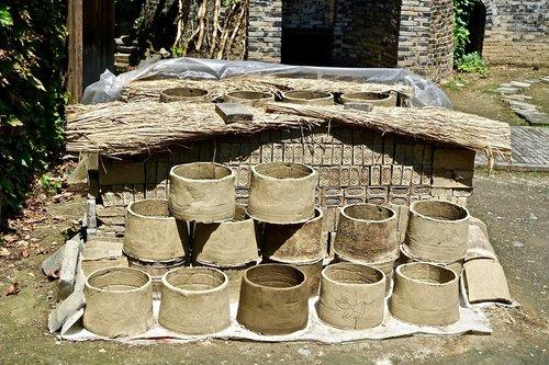 pottery  clay  pots