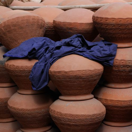 pottery amphora clay pots
