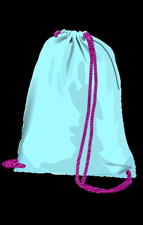 pouch sport blue