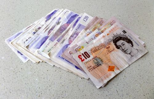 pounds sterling notes