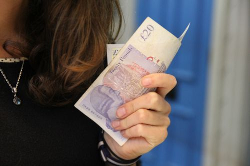 pounds money women