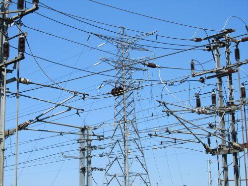 power electricity pylon