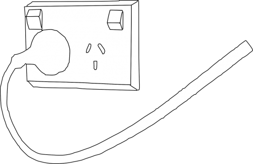 power plug outlet