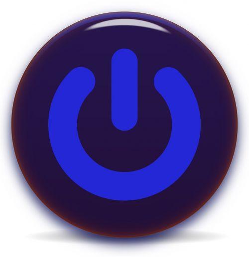 power button icon symbol