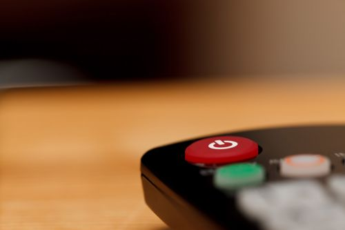 Power Button On TV Remote
