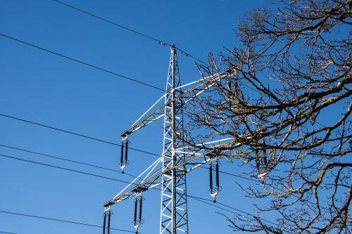 power line power lines pylon