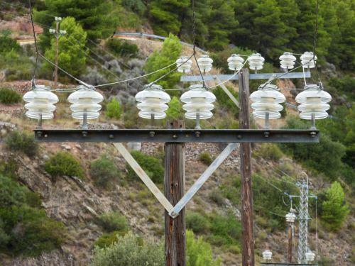 power line insulators perspective