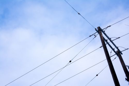 power lines electrical hydro