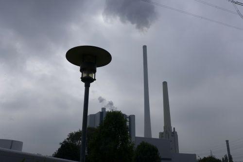 power plant carbon emission
