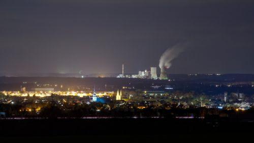 power plant night power supply